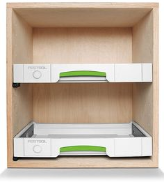 Festool has come out with a new drawer module designed to make it easier than ever for Systainer users to build their own Systainer Ports and tool cabinet systems.