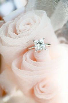 Charles Moissanite Engagement Solitaire Available – Fine Rings Rustic Engagement Rings, Engagement Solitaire, Engagement Ring Cuts, Wedding Engagement, Wedding Bands, Square Wedding Rings, Engagement Rings Square Cut, Country Engagement, Square Rings