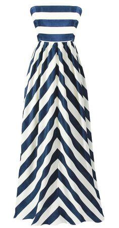 Stripe Maxi Dress //