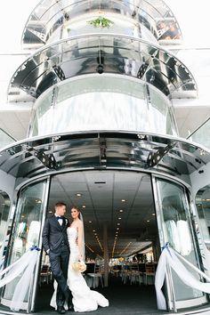 newport yacht wedding | gina + russell |