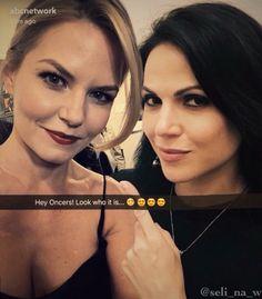 Awesome Lana and Jen #EWPeopleUpFrontsParty #NYC Monday 5-16-16 #ABCSnapChat