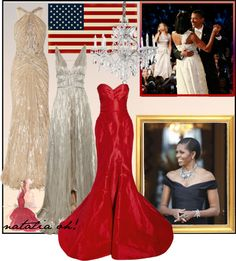 """The First Lady, Michelle Obama"" by imajumaican on Polyvore"