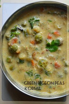 Pigeon Peas Recipe Indian, Green Pigeon Peas Recipe, Vegetarian Gravy, Vegetarian Recipes, Cooking Recipes, Pea Recipes, Curry Recipes, Snack Recipes, Indian Snacks