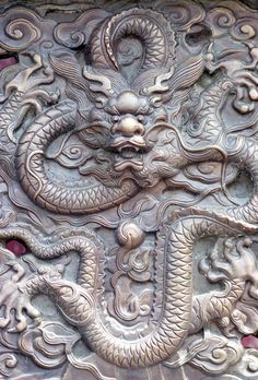 Dragon impérial - La Cité Interdite - Pékin, Chine