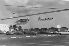 JC Penney, Plaza las Americas 70's. THE SHOPPING MALL MUSEUM