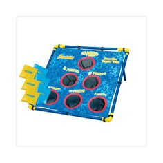 Franklin Sports Bean Bag Target Toss is a fun game for all. Includes an all weather lawn target (minor assembly required), 6 bean bags, complete rules and assembly instructions, and a carry/storage bag. Backyard For Kids, Backyard Games, Outdoor Games, Outdoor Fun, Bean Bag Target, Fun Games, Games For Kids, Bean Bag Games, Cool Bean Bags
