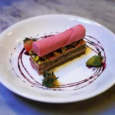 orange blossom sponge cake w strawberry semi-freddo @purefoodandwine IMG952014060795012620