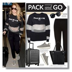 """""""Pack and Go: Milan"""" by clumsy-dreamer ❤ liked on Polyvore featuring H&M, women's clothing, women, female, woman, misses, juniors and Packandgo"""