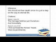 Common Core Literature 1-2 Analyzing a Literary Piece