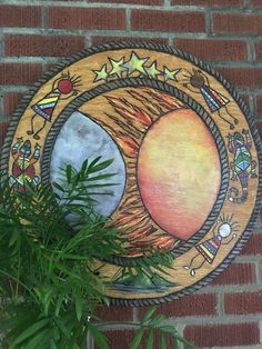 We are the world! ...carved wood and painted ...by lfp