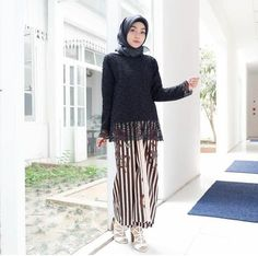 @awearcstore Kebaya Hijab, Kebaya Dress, Brocade Dresses, Hijab Outfit, Looking For Women, Hijab Fashion, Brokat, Gowns, Formal