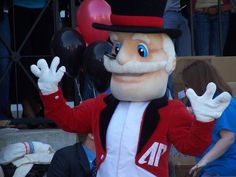 Austin Peay Governors mascot, The Governor