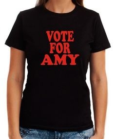 Vote For Amy Women T-Shirts