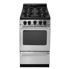 premier proseries 20 in 242 cu ft gas range with sealed burners