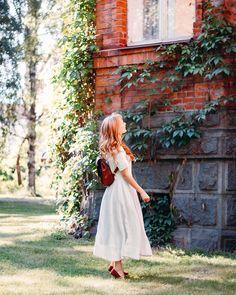 Can't wait for summer #summer #garden #naturechild #vintageinspired #linendress #quietinthewild #morigirl #夏 #森ガール #ヴィンテージ #フィンランド