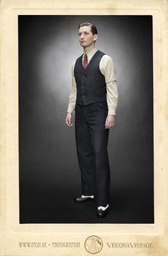 09318f0489bdaf College vest CINCINATTI KID blue wool tweed Vecona Vintage swing dance lindy  hop 1930 30s