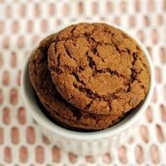 Big Soft Ginger Cookies - Per reviewers sub O.J. For the water and chill the dough so it's less sticky/won't stick to your hands.