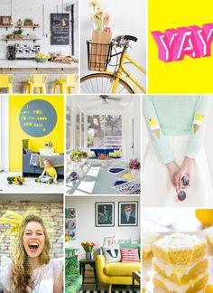 Mood Board Monday: Mellow Yellow (http://blog.hgtv.com/design/2014/07/21/mood-board-monday-mellow-yellow/?soc=pinterest)