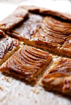 A Cozinha Coletiva   galete de maçã com manteiga salgada