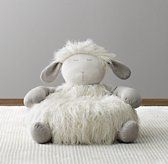 Wooly Plush Lamb Chair