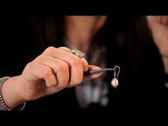 How to Make Pearl Earrings Using Head Pins | Making Jewelry - YouTube