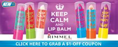 What's in My Bag? Keep Calm and Lip Balm with Rimmel #KeepCalmLipBalm #ad
