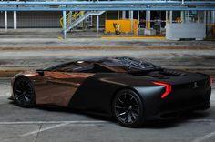 Onyx a été développé en collaboration avec les ingénieurs de Peugeot Sport. Le capot arrière abrite le moteur de la 908 Hybrid de course: le V8 hybride HDI 3,7 litres délivre 600 ch. Il doit permettre à cette supercar d'atteindre la vitesse vertigineuse de 400 km/h.