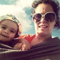 baby slingado :) #rosapomar