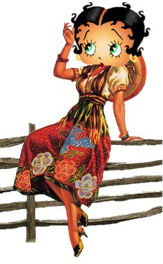 Betty Boop ~ Mexican Betty