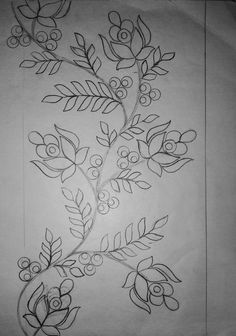 Aunt Martha's Iron On Transfer Patterns for Stitching, Embroidery or Fabric Painting, Patterns for Linens, Set of 5 - Embroidery Design Guide Hand Embroidery Patterns Free, Border Embroidery Designs, Embroidery Flowers Pattern, Machine Embroidery Designs, Blackwork Embroidery, Embroidery Motifs, Embroidery Transfers, Hand Embroidery Dress, Flower Art Drawing