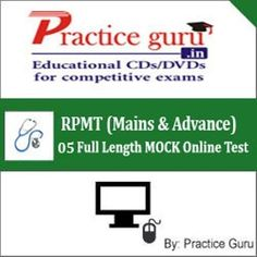 5 Full Length MOCK Online Test to check and compare your preparation for JEE exam, specially designed on Latest Pattern & Syllabus for JEE Mains & Advance.