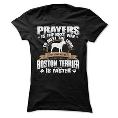 BUT MESSING MY BOSTON TERRIER IS FASTER TSHIRTS