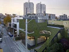 Ann Demeulemeester's store in Seoul, South Korea (Minsuk Cho and Kisu Park of Mass Studies, 2007),