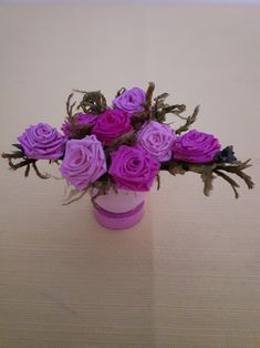Quilling plante roses