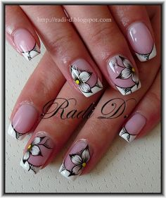 It`s all about nails: Flowers