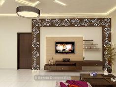 Best Lcd Unit Images On Pinterest In - Lcd wall design in bedroom