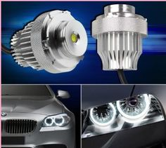 #White cree 20w led #angel eyes set for bmw 5 #series e60 e61 520i 520d 525i 525d,  View more on the LINK: 	http://www.zeppy.io/product/gb/2/381268954977/