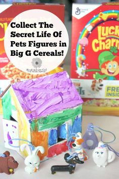 The Secret Life Of Pets is finally in theaters! The whole family will love it! Make sure to collect The Secret Life Of Pets Figures in General Mills Big G Cereals (Honey Nut Cheerios, Cheerios Multi Grain, Lucky Charms, Trix and Cocoa Puffs) ‪#‎BigGPets‬ ‪#‎TheSecretLifeOfPets‬  ‪#‎ad‬