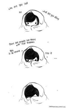 depressed depression OCD anxiety self harm self hate self ...