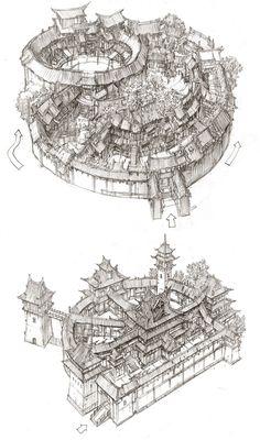 sketch, min seub Jung on ArtStation at https://www.artstation.com/artwork/vzV1A