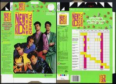 Ralston - New Kids on the Block cereal box - sales sample flat - 1990 | Flickr - Photo Sharing!
