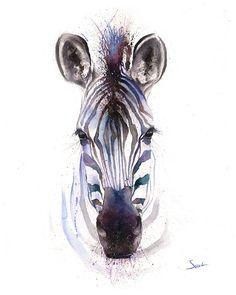 La vie est juste mieux avec des animaux autour ! Lumière vers le haut de votre chambre et votre esprit avec ce tirage dart de la faune dune ma peinture aquarelle zèbre. Je sais que je ne peux pas aider mais sourire et être heureux chaque fois que je vois un animal ! Jespère que tu ressens la même. Jespère que vous apprécierez cette oeuvre très personnelle et significative ! ________________________________________________________ TAILLE : choisissez la taille qui correspond le mieux à…