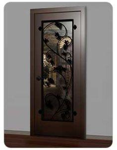 .backdoor Cellar Ideas, Wine Cellars, Back Doors, Wine Storage, Door Ideas, Beautiful Things, House Design, Interiors, Decorating