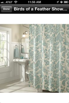 StyleBirds Of A Feather Shower Curtain