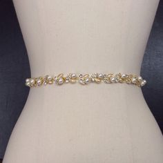 Bridal Belt Thin Gold Bridal Belt Wedding Belt by BestFriendBridal Wedding Sash Belt, Wedding Belts, Gold Wedding, Wedding Stuff, Bridal Accessories, Bridal Jewelry, Pearl Design, Pearl Cream, Skinny Belt