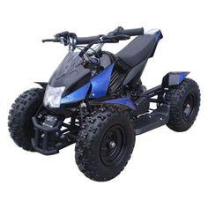 MotoTec 24V Mini Quad - Blue : Toys & Games : Amazon.com