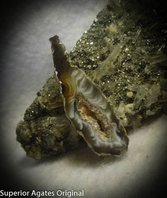 Los Ocho Pendee Geode Hand Cut Stone Rock Cab by superioragates, $10.00