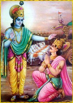 KRISHNA ARJUNA Baby KrishnaLord KrishnaKrishna LeelaSweet LordBhagavad GitaKali YugaBhakti YogaLitho PrintHinduism