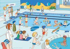 dangers à la piscine