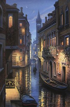 """""""Evening in Venice"""" by Eugene Lushpin"""